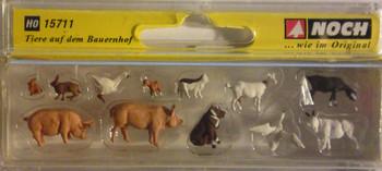 NOCH 15711 Farm Animals 'H0'
