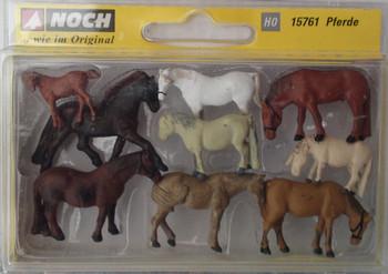 NOCH 15761 Horses 00/HO Model Animals