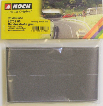 NOCH 60703 Light Grey Road 'H0' 80mm x 1 metre