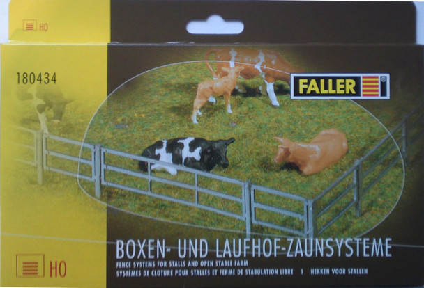 FALLER 180434 Fence Systems For Stalls & Open Stable Farms 00/HO