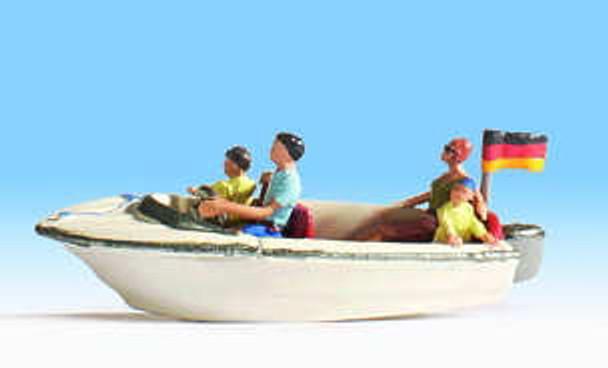 NOCH 16820 Motor Boat & Figures 00/HO