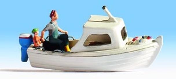 NOCH 16822 Fishing Boat & Figures 00/HO