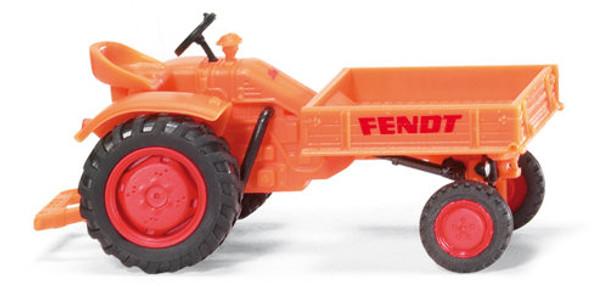 WIKING 8994125 Fendt Tool Carrier Orange 00/HO