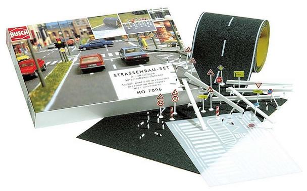 BUSCH 7097 Road Starter Set 'N' Gauge