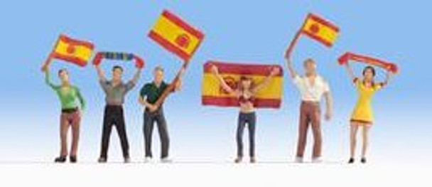 NOCH 15984 Spain Football Fans 00/HO Figures