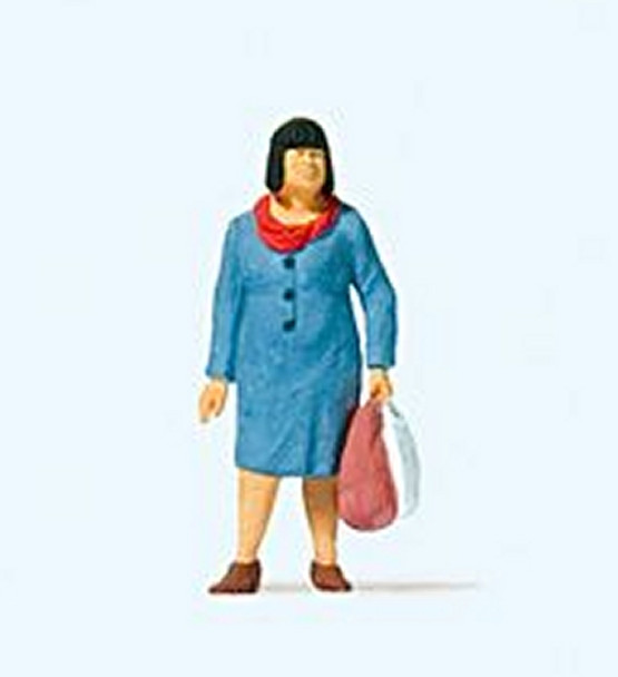 PREISER 28201 Going Shopping 00/HO Model Figure