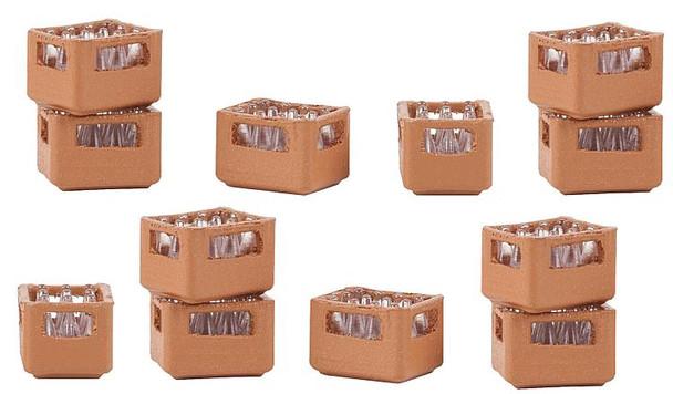 FALLER 180334 Set of Beverage Crates 00/HO Plastic Model Kit