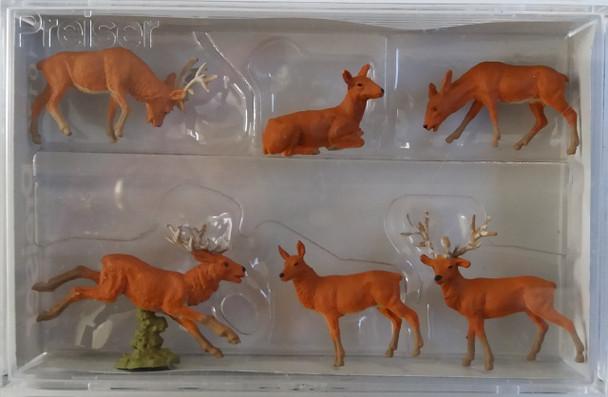 PREISER 10179 Stags 00/HO Model Animals