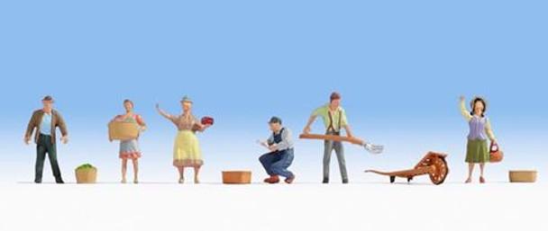 NOCH 15617 Farmers 00/HO Model Figures