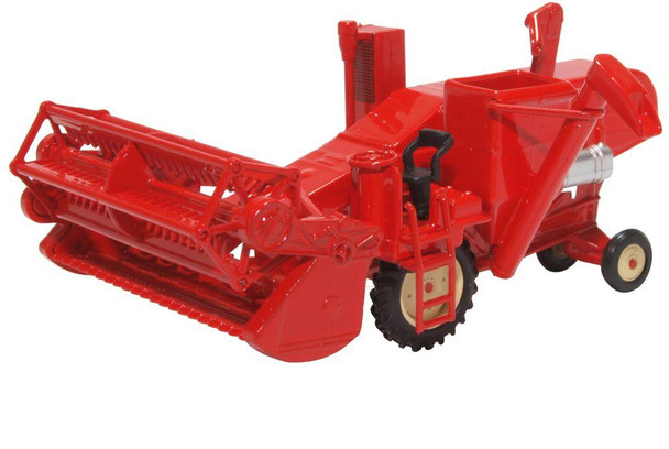 Oxford Diecast '00' Combine Harvester 'Red'