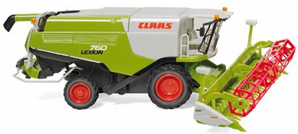 WIKING 038914 Claas Lexion 760 Combine Harvester 00/HO