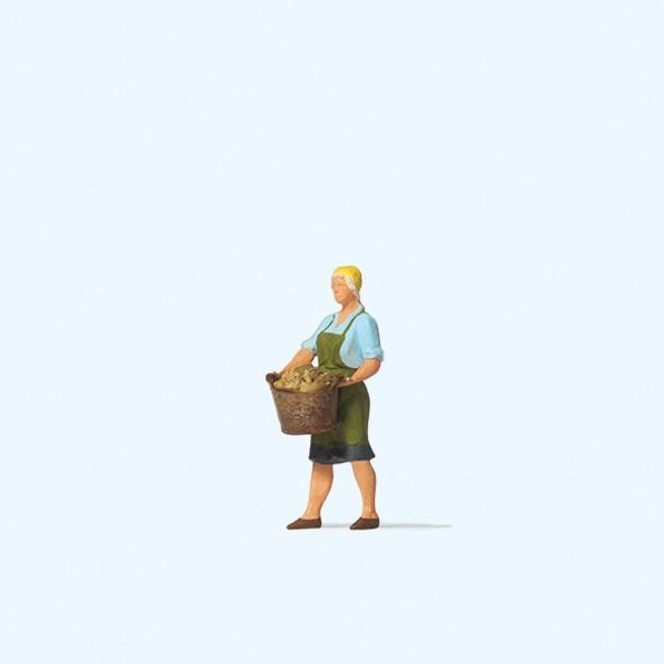 PREISER 28242 Farmer's Wife 00/HO Model Figure