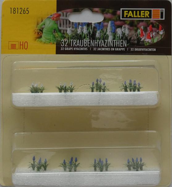 FALLER 181265 Hyacinths (32) 00/HO Model Plants