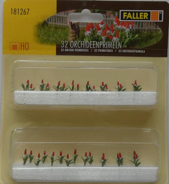 FALLER 181267 Primroses (32) 00/HO Model Plants