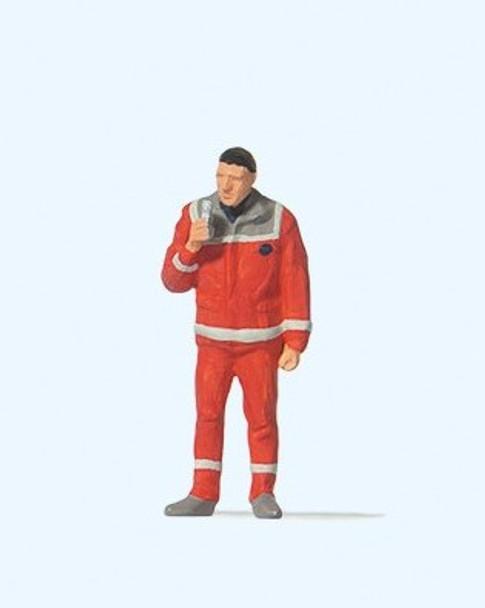 PREISER 28240 Paramedic 00/HO Model Figure