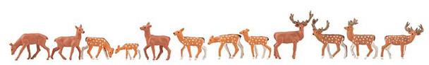 FALLER 151906 Fallow Deer & Red Deer 00/HO Model Animals
