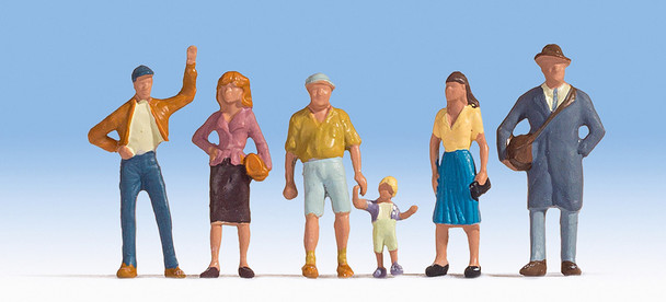 NOCH 15478 Pedestrians 00/HO Model Figure Set