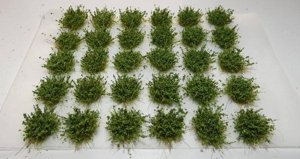 HSS SB1 - Self Adhesive Small Green Bushes (30)