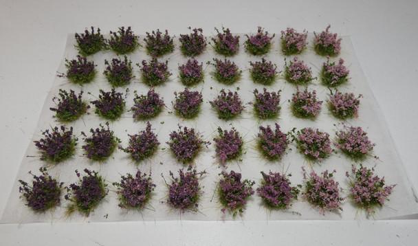 HSS FB40P - Self Adhesive Flowering Shrubs - Pink/Purple Mix (40)
