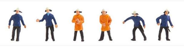 FALLER 155337 Firemen 'N' Gauge Model Figures