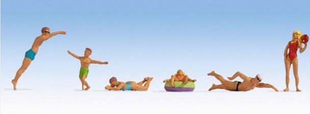 NOCH 15849 Bathers 00/HO Model Figures