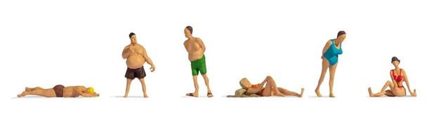 NOCH 18300 Bathers 00/HO Model Figures