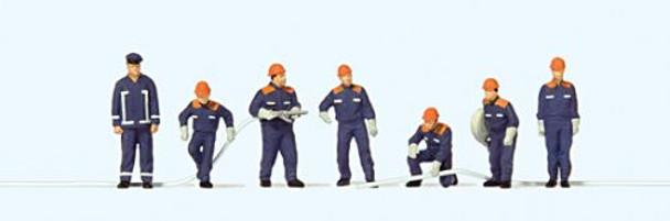 PREISER 10719 Youth Fire Brigade 00/HO Model Figures
