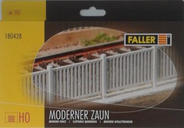 FALLER Three Bar Paddock Fencing Model Kit 876mm II HO Gauge 180431