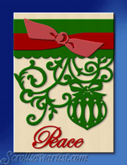 Layered Christmas plaque #3 (CH329)