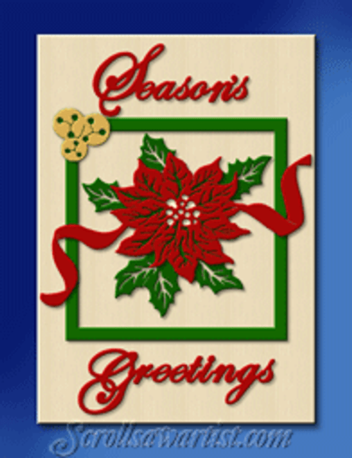 Layered Christmas plaque #5 (CH331)