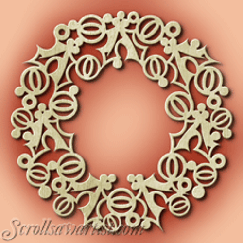 Holly wreath (CH299)