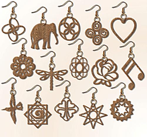 Set of 15 Earrings (MI078)