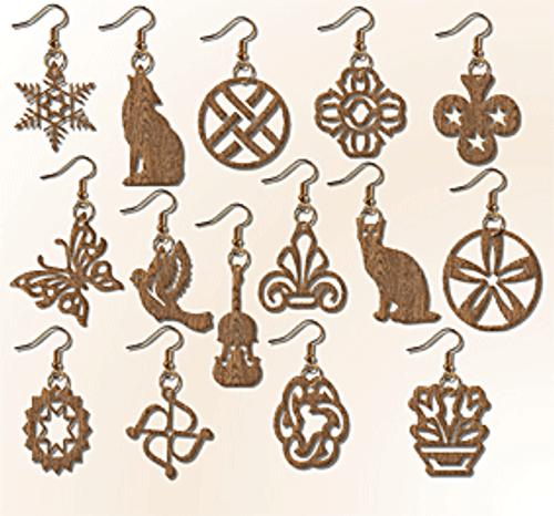 Set of 15 Earrings (MI079)