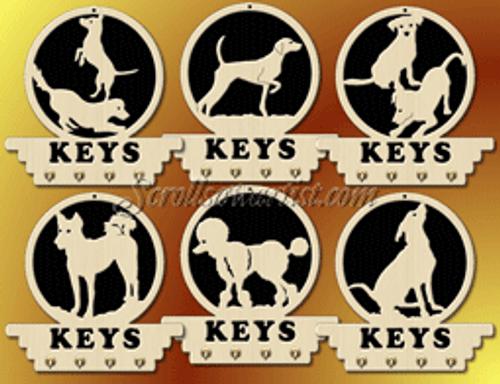 Dog key hangers (MI291)