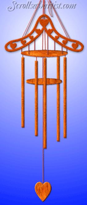 Dowel stick wind chime (MI322)