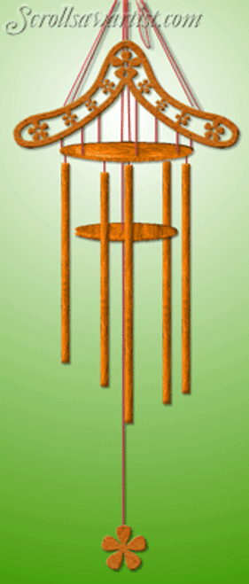 Dowel stick wind chime (MI323)