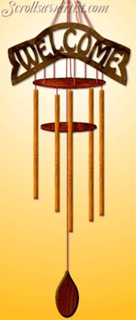 Dowel stick wind chime (MI324)
