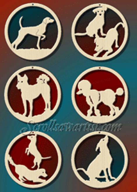 Dog ornaments (CH153)