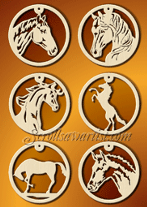 Horse ornaments (CH263)