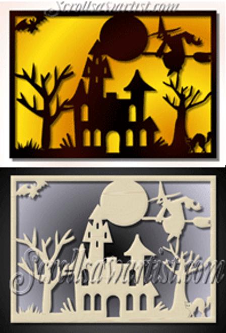 Halloween scene (CE031)