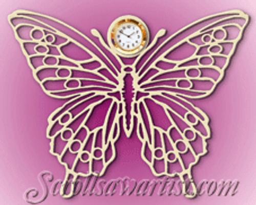 Butterfly hang clock  (CL102)