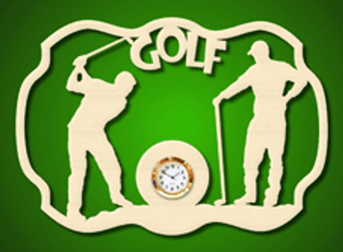 Golf clock (CL092)