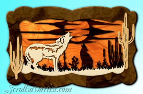 Howling wolves (LA017)