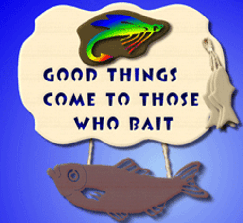 Fishing plaque (SP033)