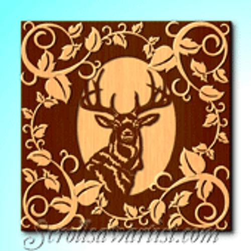 Deer portrait (WL083)