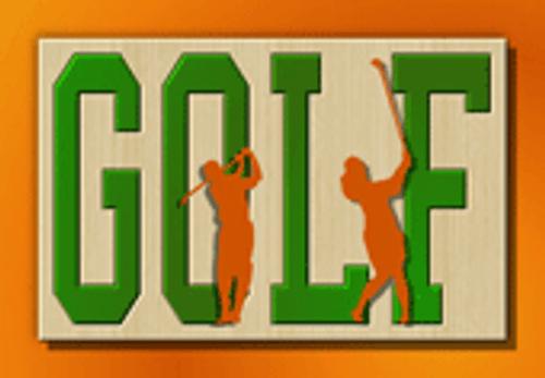 Golf plaque (SP048)