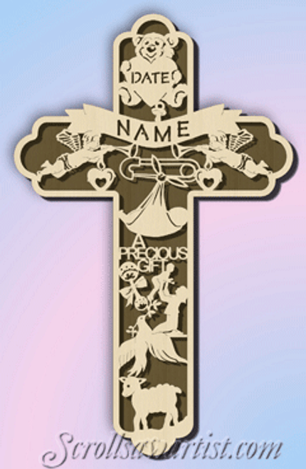 Baby birth cross (CE056)
