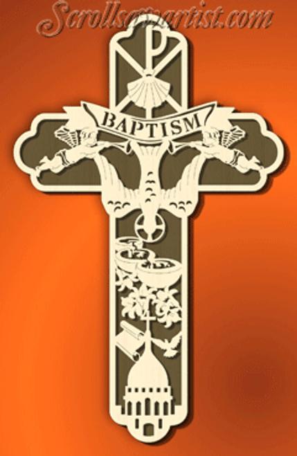 Baptism cross (CE052)