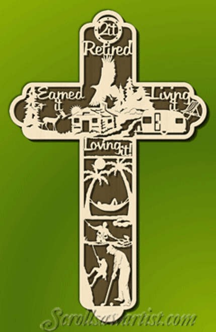 Retirement cross (CE074)