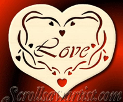 Love heart (CE044)